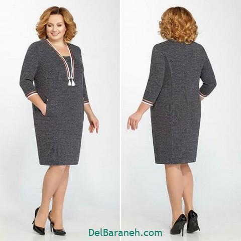 لباس مجلسی سایز بزرگ (۲۰)