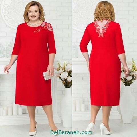 لباس مجلسی سایز بزرگ (۴۵)