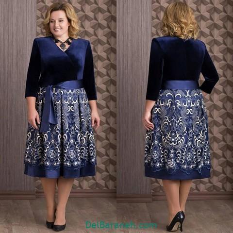 لباس مجلسی سایز بزرگ (۵۲)