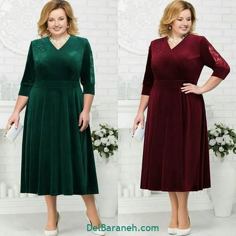 لباس مجلسی سایز بزرگ (۶)