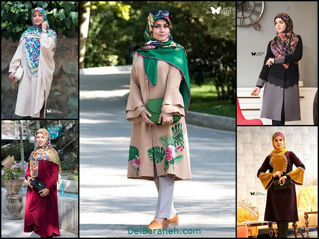 مدل مانتو عید دخترانه شیک