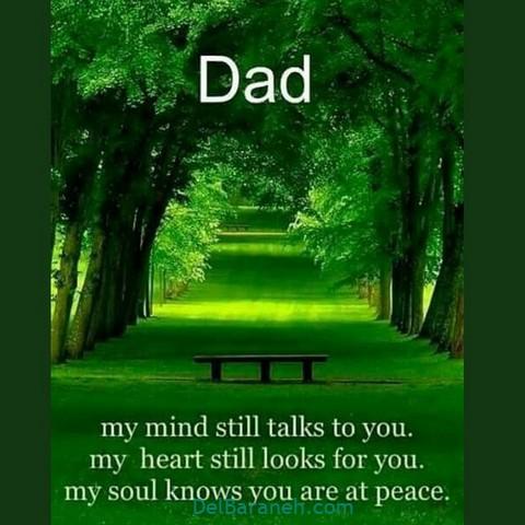 عکس دلتنگی پدر (۳)