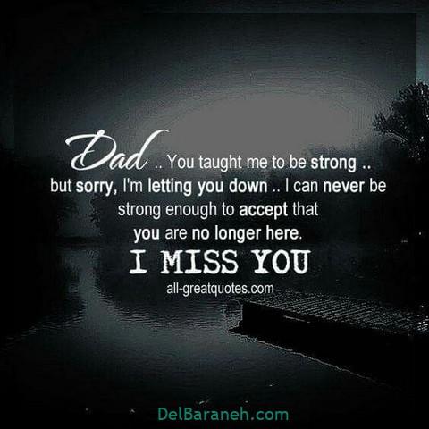 عکس دلتنگی پدر (۸)