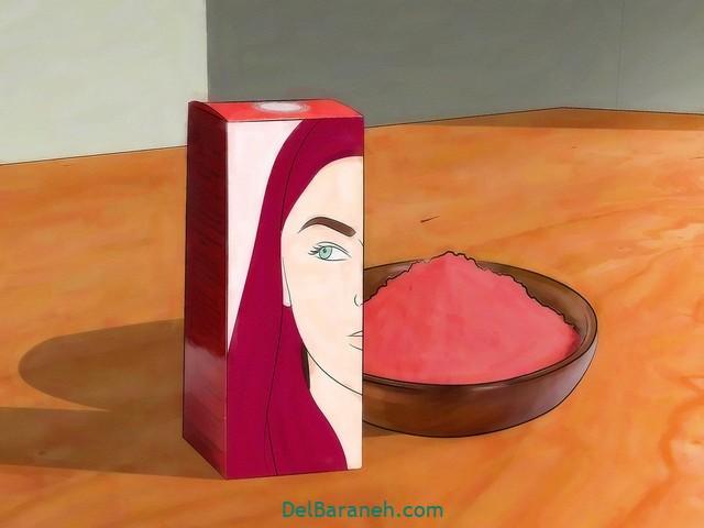 رنگ کردن مو سفید با حنا (۱)