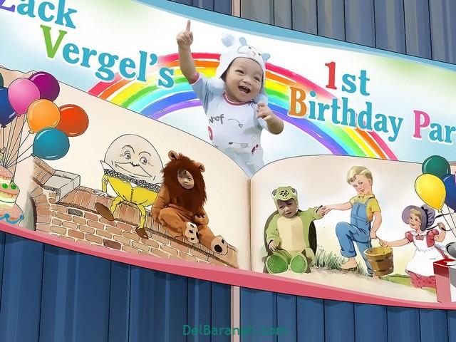 آموزش تزیین خانه برای جشن تولد (۱۱)