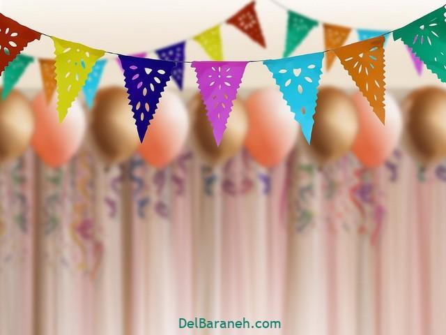 آموزش تزیین خانه برای جشن تولد (۷)