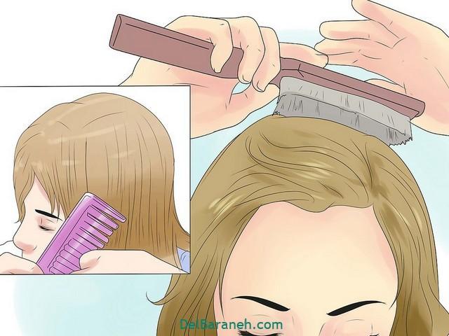 بلند کردن مو (۶)