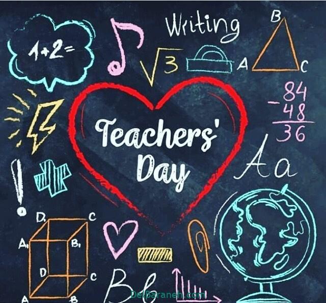 عکس روز معلم ادبیات
