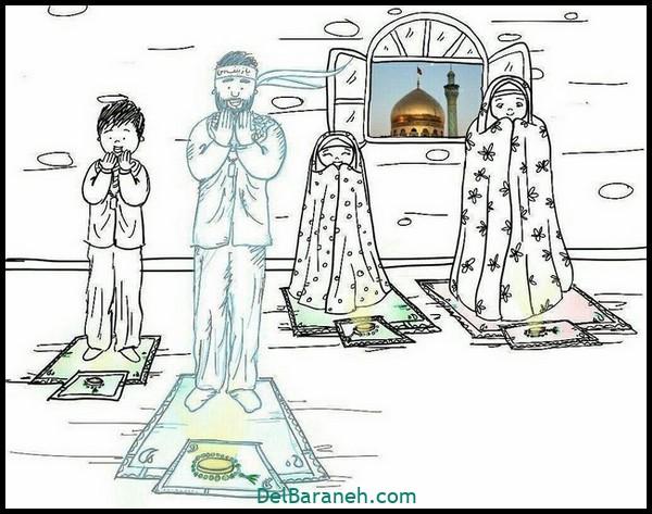 رنگ آمیزی ماه رمضان (۳)