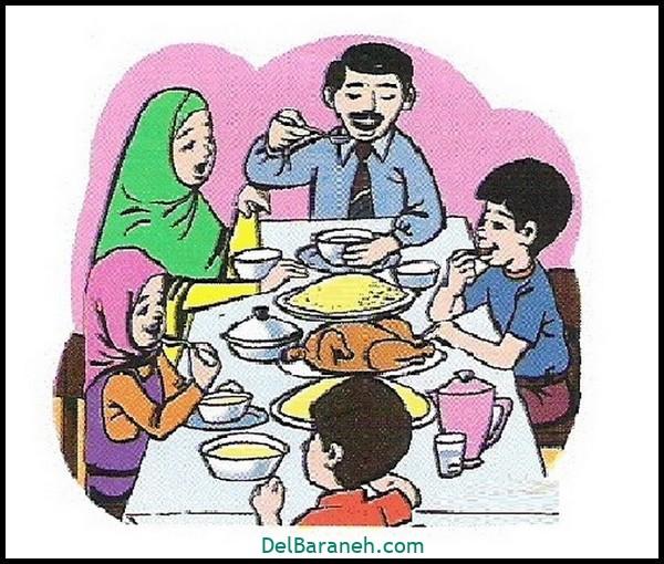 نقاشی در مورد ناهار وحدت