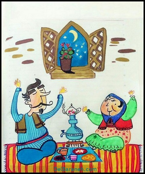 نقاشی ماه رمضان (۱۸)