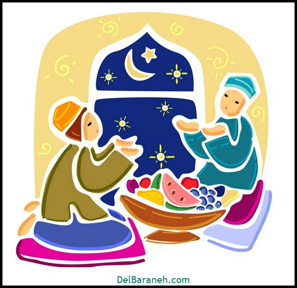 نقاشی ماه رمضان (۳۵)