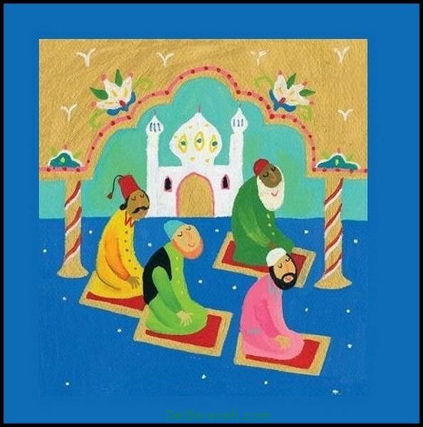نقاشی ماه رمضان (۳۷)