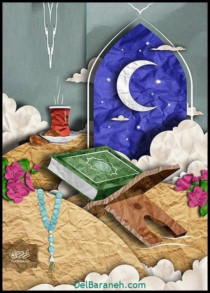 نقاشی ماه رمضان (۴۹)
