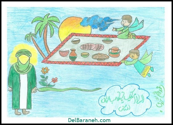 نقاشی ماه رمضان (۵۸)
