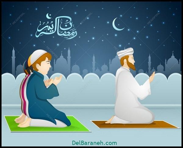 نقاشی ماه رمضان (۷)