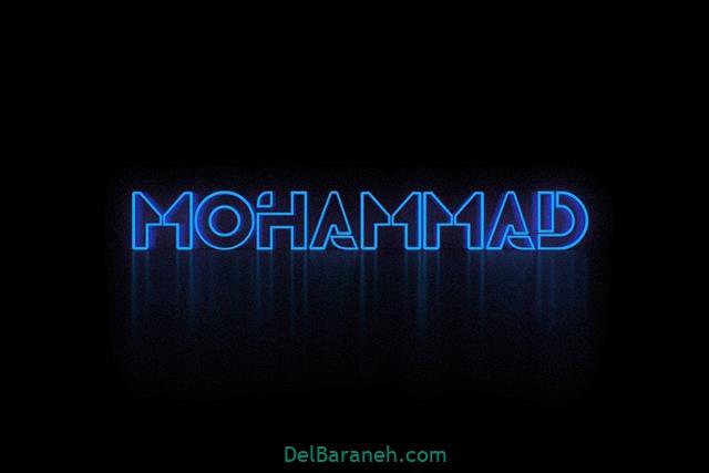 عکس پروفایل اسم محمد انگلیسی