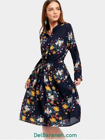 جدیدترین مدل لباس مجلسی کوتاه آستین دار