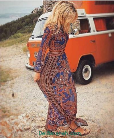 مدل لباس مجلسی آستین دار شیک دخترانه  ۱۲۰ مدل لباس مجلسی آستین دار با طرح های متنوع مخصوص مهمانی