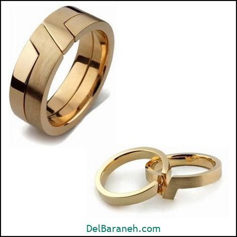 حلقه ست | ۱۵۰ مدل حلقه ازدواج ست عروس و داماد