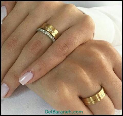مدل حلقه ازدواج (۳)