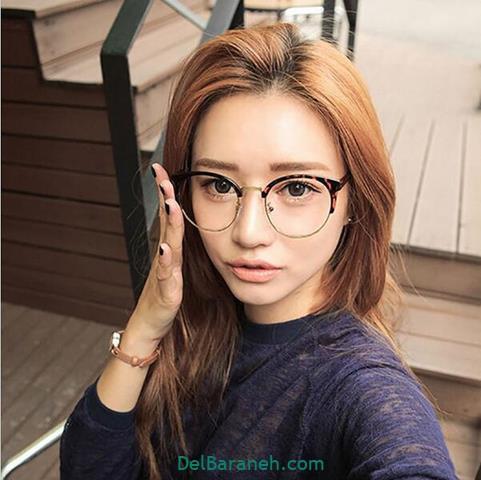 مدل عینک طبی زنانه و دخترانه جوان پسند