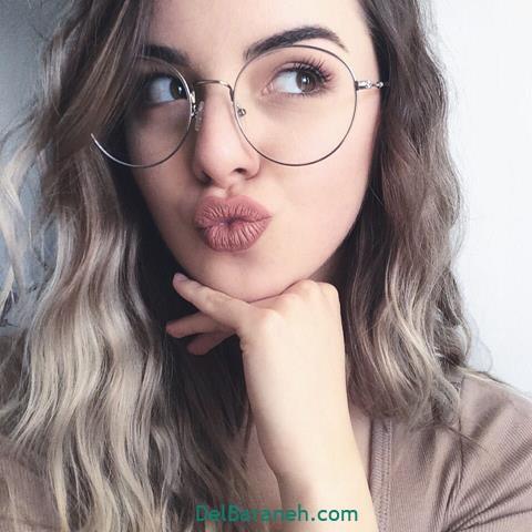 مدل عینک طبی زنانه و دخترانه اسپرت شیک