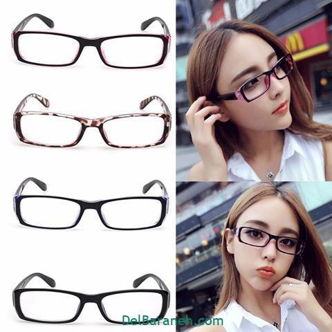 مدل عینک طبی زنانه و دخترانه طرح های مختلف