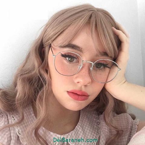 مدل عینک طبی زنانه و دخترانه با فریم فلزی