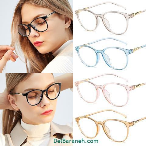 مدل عینک طبی زنانه رنگ های مختلف