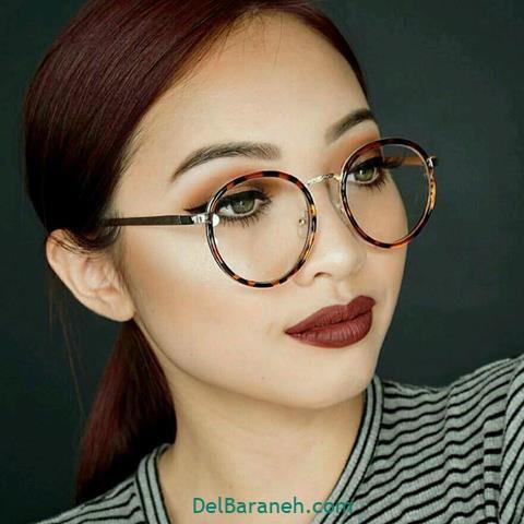 مدل فرم عینک طبی زنانه جدید