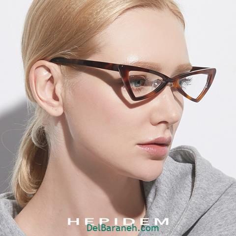 مدل فرم عینک طبی زنانه