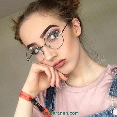 مدل عینک طبی گربه ای زنانه