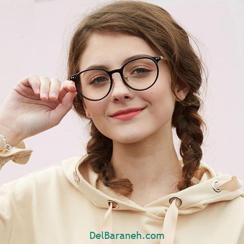 مدل عینک طبی دخترانه جدید