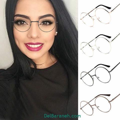 مدل عینک طبی دخترانه باکلاس