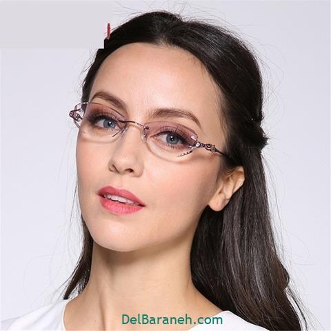 مدل عینک طبی دخترانه دانشجویی