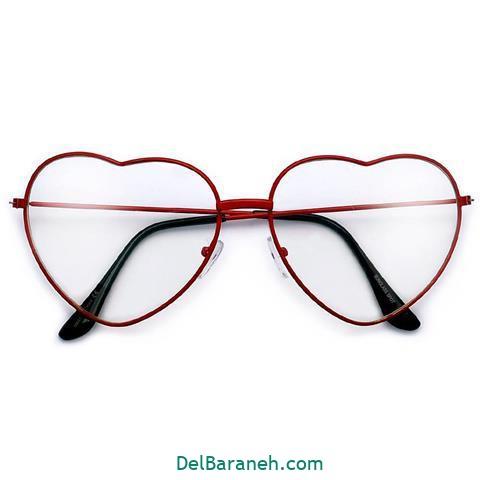 مدل عینک طبی زنانه و دخترانه مدل قلب