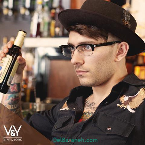 مدل عینک طبی مردانه و پسرانه با کلاس