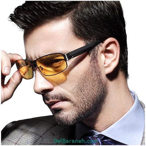 انواع مدلهای عینک طبی مردانه