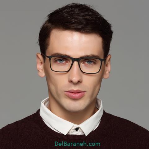 مدل مو مردانه با عینک طبی