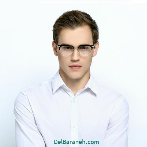 مدل عینک طبی پسرانه