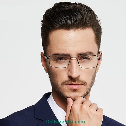 عکس مدل های عینک طبی مردانه