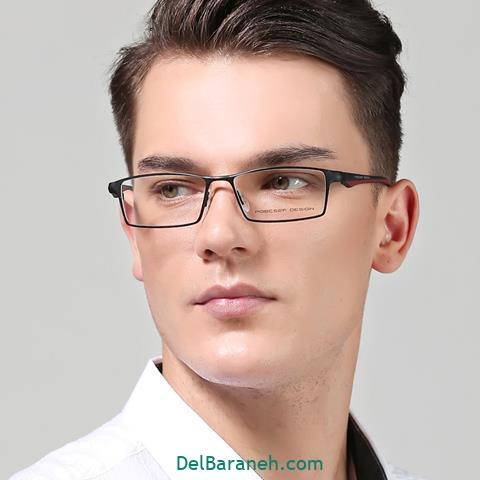 مدل های مختلف عینک طبی مردانه