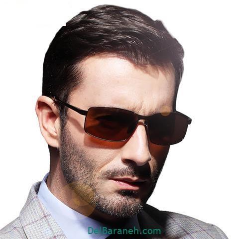 مدل های جدید عینک طبی مردانه رنگی