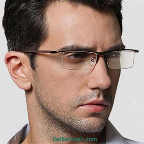 مدل عینک طبی مردانه ایرانی