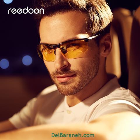 مدل عینک طبی مردانه برای بینی های بزرگ