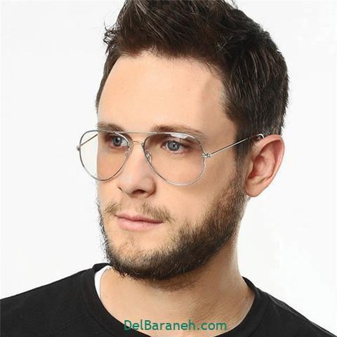 مدل عینک طبی پسرانه با فرم صورت