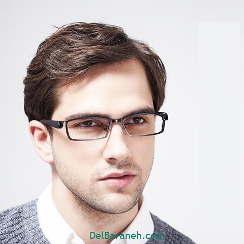 مدل عینک طبی مردانه رسمی