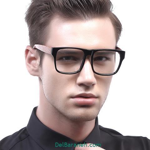 مدل عینک طبی شیشه رنگی