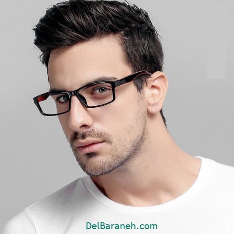 مدل عینک طبی مردانه اداری